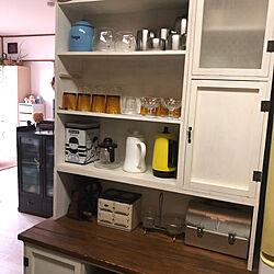 DIY食器棚/DIY/アンティーク/ヴィンテージ/キッチンのインテリア実例 - 2020-05-23 08:03:31