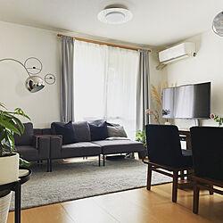 観葉植物/照明/IKEA/ソファ/モノトーン...などのインテリア実例 - 2021-05-26 14:12:06
