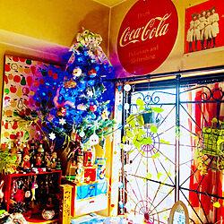 部屋全体/コカコーラ/グリマスツリー/クリスマス/ニトリ...などのインテリア実例 - 2018-11-03 10:38:16