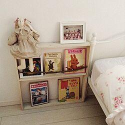ベッド周り/DIY/本棚/0円DIY/端材処理のインテリア実例 - 2014-06-26 10:15:58