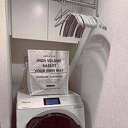 セリア/ドラム式洗濯機Panasonic/KEYUCA/バス/トイレのインテリア実例 - 2020-03-05 23:28:32