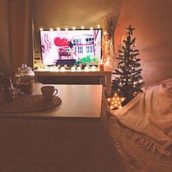 部屋全体/christamstree90cm/MrMax/christmas tree/Christmas...などのインテリア実例 - 2018-11-23 21:31:42