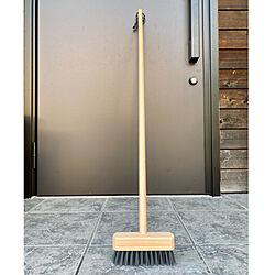 ヴィンテージシック/DULTON/掃除道具/玄関掃除/デッキブラシ...などのインテリア実例 - 2021-07-22 20:55:04