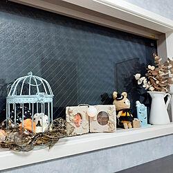 壁/天井/ハロウィン/ハロウィンディスプレイ/鳥かご/かぼちゃ...などのインテリア実例 - 2020-09-23 21:33:18