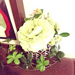 造花のインテリア実例 - 2014-02-09 01:03:50
