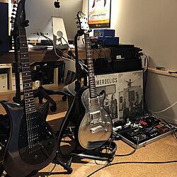部屋全体/ギター/楽器のある部屋のインテリア実例 - 2018-03-31 20:07:20