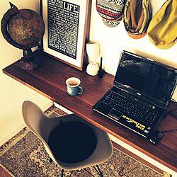 机/イームズ/シェルチェア/IKEA/帽子...などのインテリア実例 - 2014-12-10 16:24:42