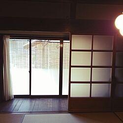 リビング/縁側/すだれ/ヴィンテージ/日本家屋...などのインテリア実例 - 2017-05-07 12:02:54