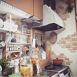 キッチン/黒板シート/100均/セリア/おうちカフェ...などのインテリア実例 - 2016-06-25 18:01:33