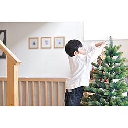 クリスマスツリー/こどもと暮らす/こどもと暮らす。/リビングのインテリア実例 - 2020-11-19 12:28:03