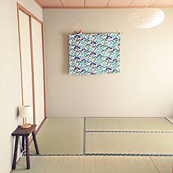 ベッド周り/寝室は和室/寝室/和室/照明のインテリア実例 - 2015-05-20 13:30:16