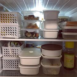 保存容器沢山/保存容器 白/シンプルが好き/一人暮らし/スチールラック キッチン...などのインテリア実例 - 2020-02-13 21:50:11