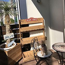 リビング/山善/ガーデンテーブルセット/ビーチスタイル目指します!/DIY...などのインテリア実例 - 2017-09-03 08:39:56