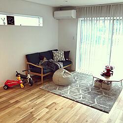 リビング/連投すみません/シンプル/北欧/無垢床...などのインテリア実例 - 2019-01-08 11:45:15