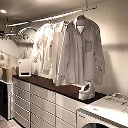 バス/トイレ/節約/家事時短/家事動線/Yシャツ...などのインテリア実例 - 2018-11-02 18:57:26