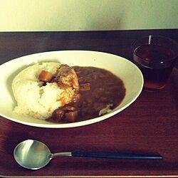 机/夜ご飯/食器/北欧のインテリア実例 - 2014-03-02 16:43:08