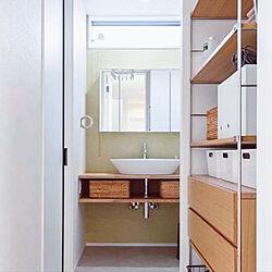 バス/トイレ/無印良品/ナチュラル/IKEA/三面鏡...などのインテリア実例 - 2020-02-08 20:28:16