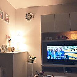 リビング/壁面収納のTVボード/壁面収納/ガーリー/エレガンス...などのインテリア実例 - 2017-07-15 23:11:13