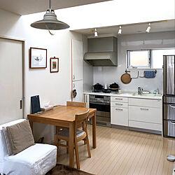 部屋全体/キャトルセゾン/黒板/IKEAのダイニングテーブル/大掃除ちょっとずつ...などのインテリア実例 - 2018-12-09 12:20:11