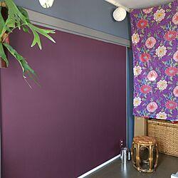 ベッド周り/セルフリフォーム/DIY/壁ペンキ塗りDIY/ペイント...などのインテリア実例 - 2017-05-02 15:37:32