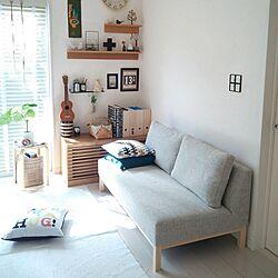 部屋全体/My Best RoomClip/無印良品/IKEA/クッション...などのインテリア実例 - 2014-09-30 10:04:17