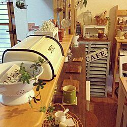 キッチン/同じような写真ばかりで、ごめんなさい…/DIY/リメイク/かご...などのインテリア実例 - 2015-11-02 07:47:19