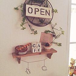 部屋全体/newさん♡/ayumin♡/カフェ風/おうちカフェ...などのインテリア実例 - 2013-12-22 15:56:11