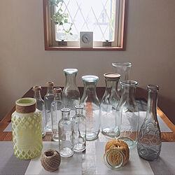 WECKの瓶/WECK/麻紐/花瓶と空き瓶/空き瓶リメイク...などのインテリア実例 - 2019-03-10 10:37:13