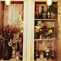玄関/入り口/キャンドゥ/DIY/雑貨/手作り...などのインテリア実例 - 2019-03-22 00:40:35