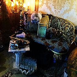 家です/隠しきれない王族感/ベンジャロン焼き/スペイン製/旧家の威力...などのインテリア実例 - 2019-04-17 10:24:29