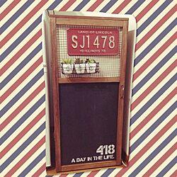 棚/セリア/DIY/ステンシル/3段BOX...などのインテリア実例 - 2014-10-21 01:32:08