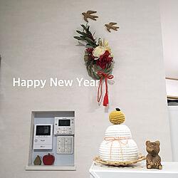 お正月インテリア/こどもと暮らす。/シンプルが好き/すっきり暮らしたい/ナチュラルが好き...などのインテリア実例 - 2021-01-02 18:16:47