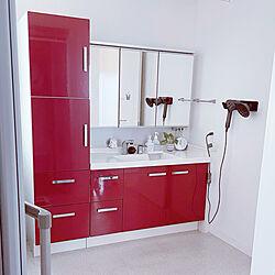 赤白/LIXIL 洗面台/バス/トイレのインテリア実例 - 2021-06-20 08:10:23