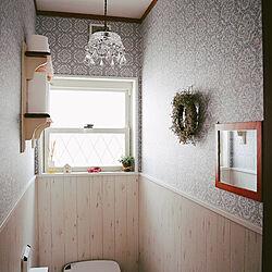 バス/トイレ/タンクレストイレ/マイホーム/お手洗い/ナチュラルインテリアのインテリア実例 - 2019-02-21 12:24:48