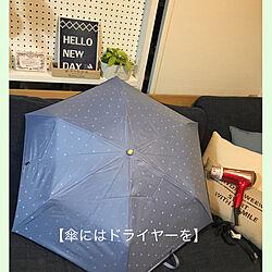汚れない方法/折りたたみ傘/撥水効果/傘/予防掃除...などのインテリア実例 - 2020-11-28 21:12:35