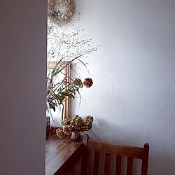 机/珪藻土の壁/庭の草花/2020.9.29/セダムリジー...などのインテリア実例 - 2020-09-29 16:52:04