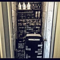 マスキングテープ/詰め替えボトル/洗剤ボトル/レンガ/コンクリート風壁紙...などのインテリア実例 - 2016-07-29 12:10:19