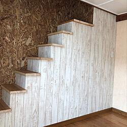 ハンドメイド/DIY/リフォーム/狭小住宅/ロフト階段...などのインテリア実例 - 2020-06-03 14:19:44