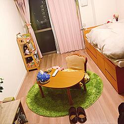 部屋全体/ソファ/座椅子/テーブル/ベッド...などのインテリア実例 - 2018-02-03 23:19:19