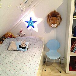 ベッド周り/kid's room/blueのインテリア実例 - 2013-02-04 20:49:24