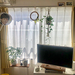 IKEA/一人暮らし/1K/6畳/ダイソー...などのインテリア実例 - 2019-04-10 23:40:30