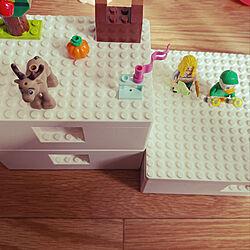 LEGO収納/ビッグレク/LEGO/子供のいる暮らし/IKEA...などのインテリア実例 - 2021-04-14 15:03:40