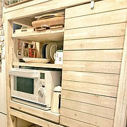 キッチン/ウニコ/アカシア無垢材/キッチンボードのインテリア実例 - 2017-08-20 14:18:34