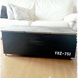 ベンチ収納/収納ボックス/DIYのある暮らし/男前/黒板塗料...などのインテリア実例 - 2019-07-14 05:56:58
