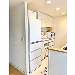新しい冷蔵庫/マンション暮らし/北欧/北欧インテリア/いいね、フォロー本当に感謝です♡...などのインテリア実例 - 2020-06-25 17:19:23