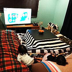 リビング/Yogibo/ヨギボー/冬はごちゃごちゃが好き/こたつのある部屋...などのインテリア実例 - 2017-12-21 06:02:40