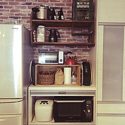 ティファールの圧力鍋/りんご箱/にとりNITORI/ダイソー/キッチンのインテリア実例 - 2020-12-10 09:25:14