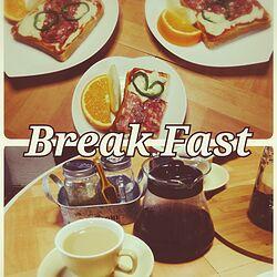 キッチン/今日から朝食作るぞー!/朝食のインテリア実例 - 2016-09-12 00:41:42