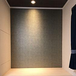 ベッド周り/造り付けドレッサー/寝室の照明のインテリア実例 - 2018-09-16 23:59:11