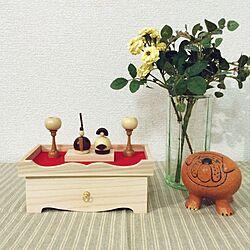 ひなまつり/おひなさま/リサラーソン/雛人形/お雛様のインテリア実例 - 2015-02-07 19:33:22
